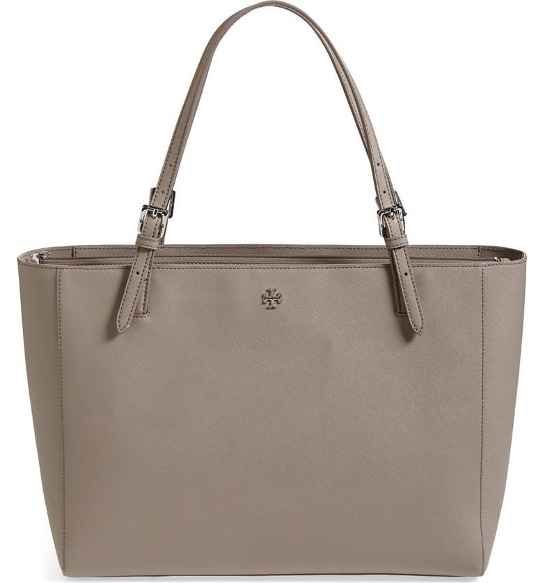 TORY BURCH 'York' Buckle Tote, Main, color, 020