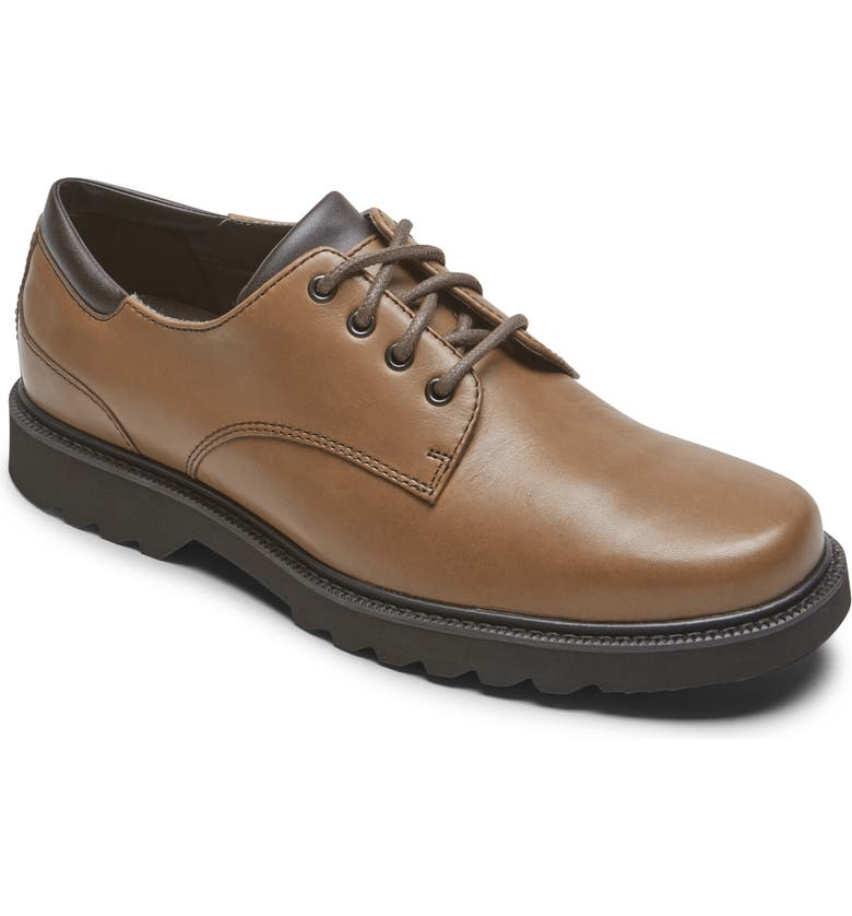 ROCKPORT Northfield Waterproof Derby, Main, color, Dark Brown