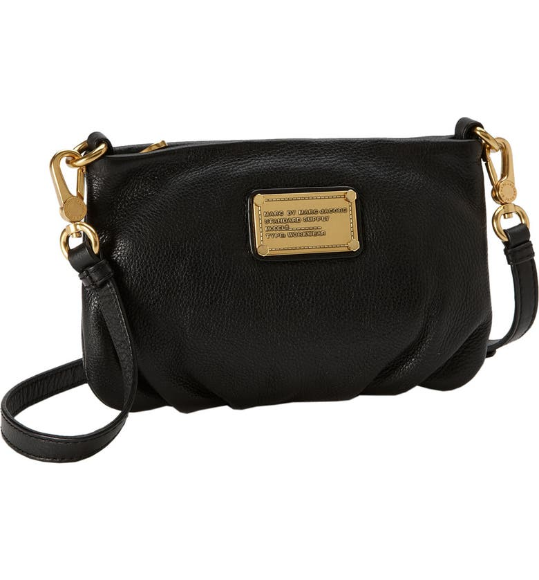 MARC JACOBS MARC BY MARC JACOBS 'Classic Q - Percy' Crossbody Bag, Main, color, 001