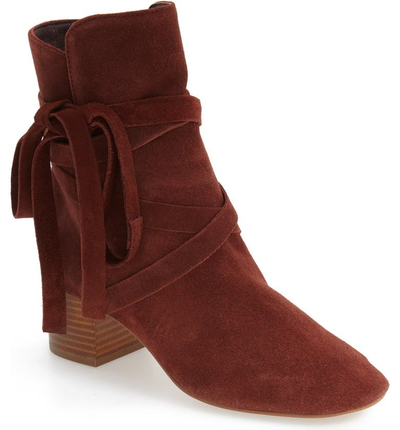 TOPSHOP 'Anabel' Lace-Up Boots, Main, color, 220