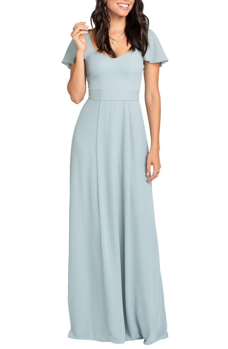 SHOW ME YOUR MUMU Marie Sweetheart A-Line Gown, Main, color, 040