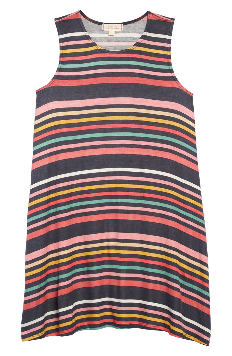 WALKING ON SUNSHINE Tank Dress, Main, color, 600
