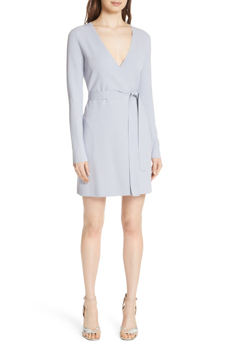 DVF Diane von Furstenberg Knit Wrap Dress, Main, color, 031