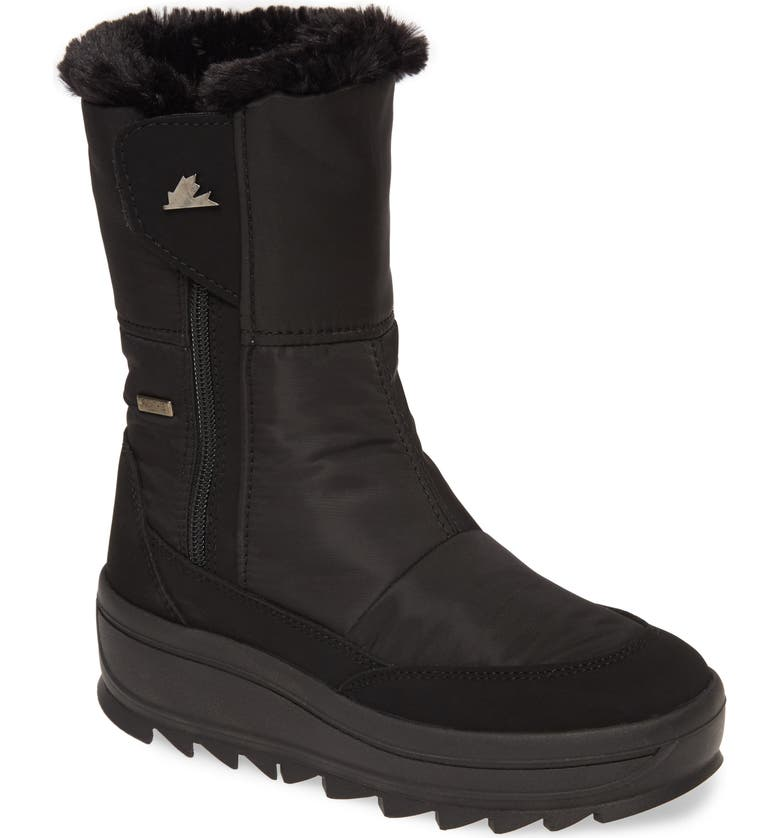 PAJAR Tanni 2.0 Waterproof Boot with Faux Fur Lining, Main, color, 001