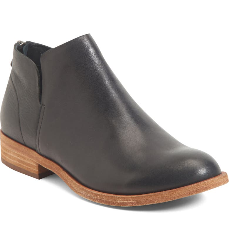 KORK-EASE<SUP>®</SUP> Renny Bootie, Main, color, BLACK LEATHER