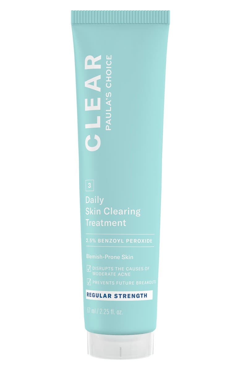PAULA'S CHOICE Clear Regular Strength Daily Skin Clearing Treatment with 2.5% Benzoyl Peroxide, Main, color, 000