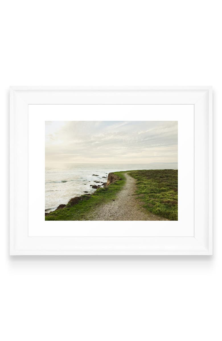 DENY DESIGNS California Coast Art Print, Main, color, 300