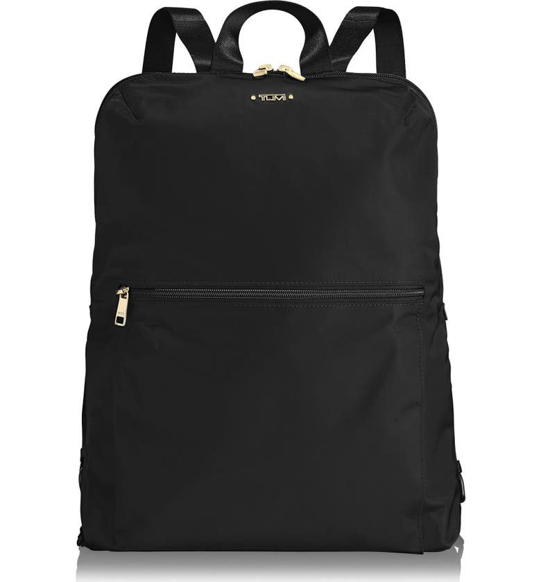 TUMI Voyageur - Just in Case Nylon Travel Backpack, Main, color, BLACK