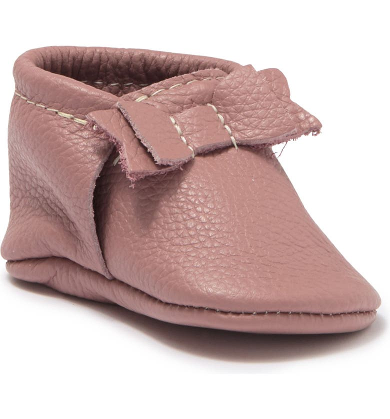 FRESHLY PICKED The First Pair Leather Moccasin, Main, color, MAUVE