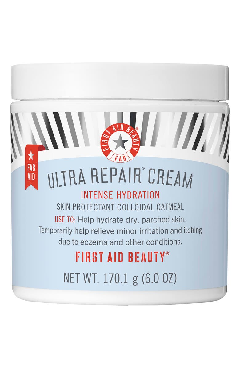 FIRST AID BEAUTY Ultra Repair Cream Intense Hydration Face & Body Moisturizer, Main, color, 000