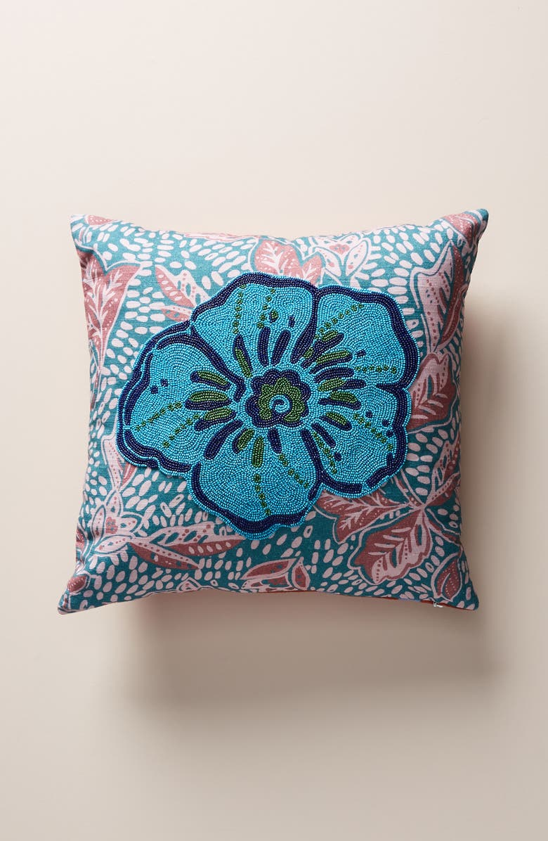 ANTHROPOLOGIE HOME Anthropologie Devann Accent Pillow, Main, color, 400