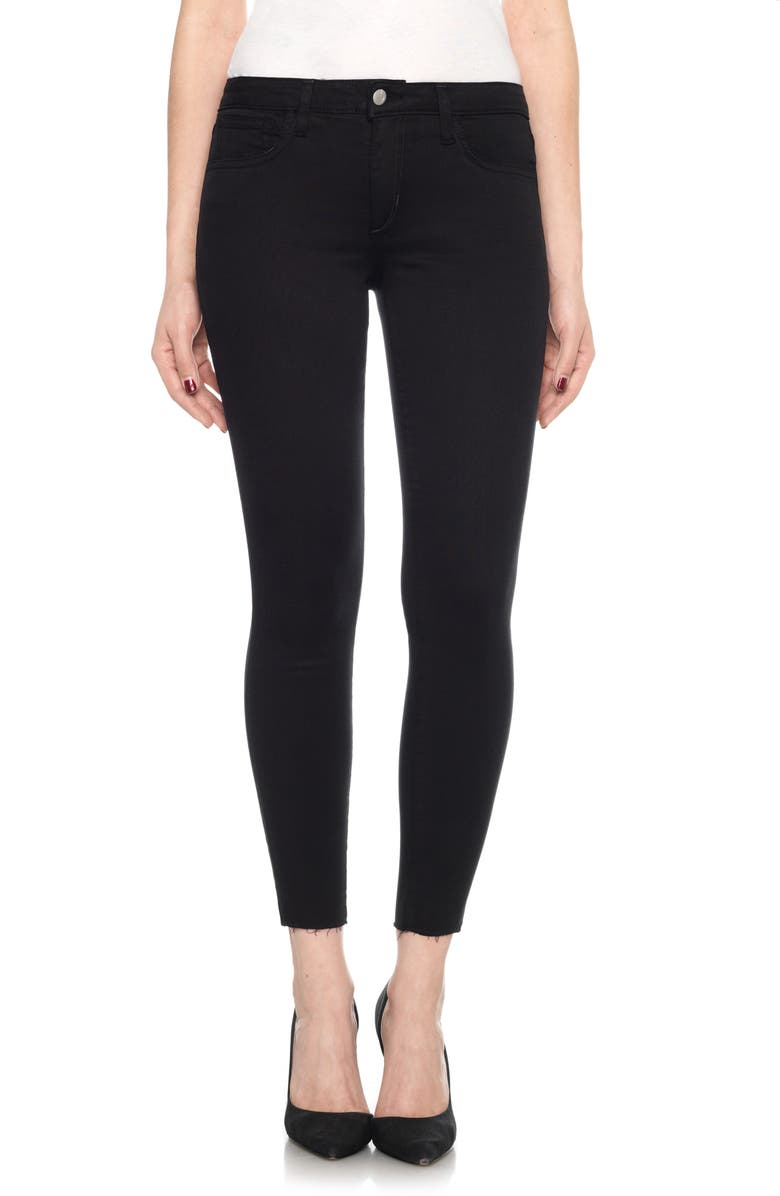 JOE'S Icon Ankle Skinny Jeans, Main, color, 001
