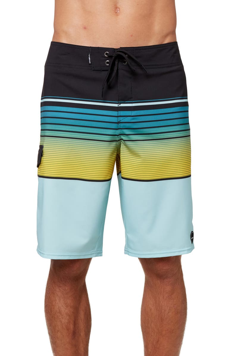 O'NEILL Lennox Hyperdry<sup>™</sup> Stretch Board Shorts, Main, color, MNT