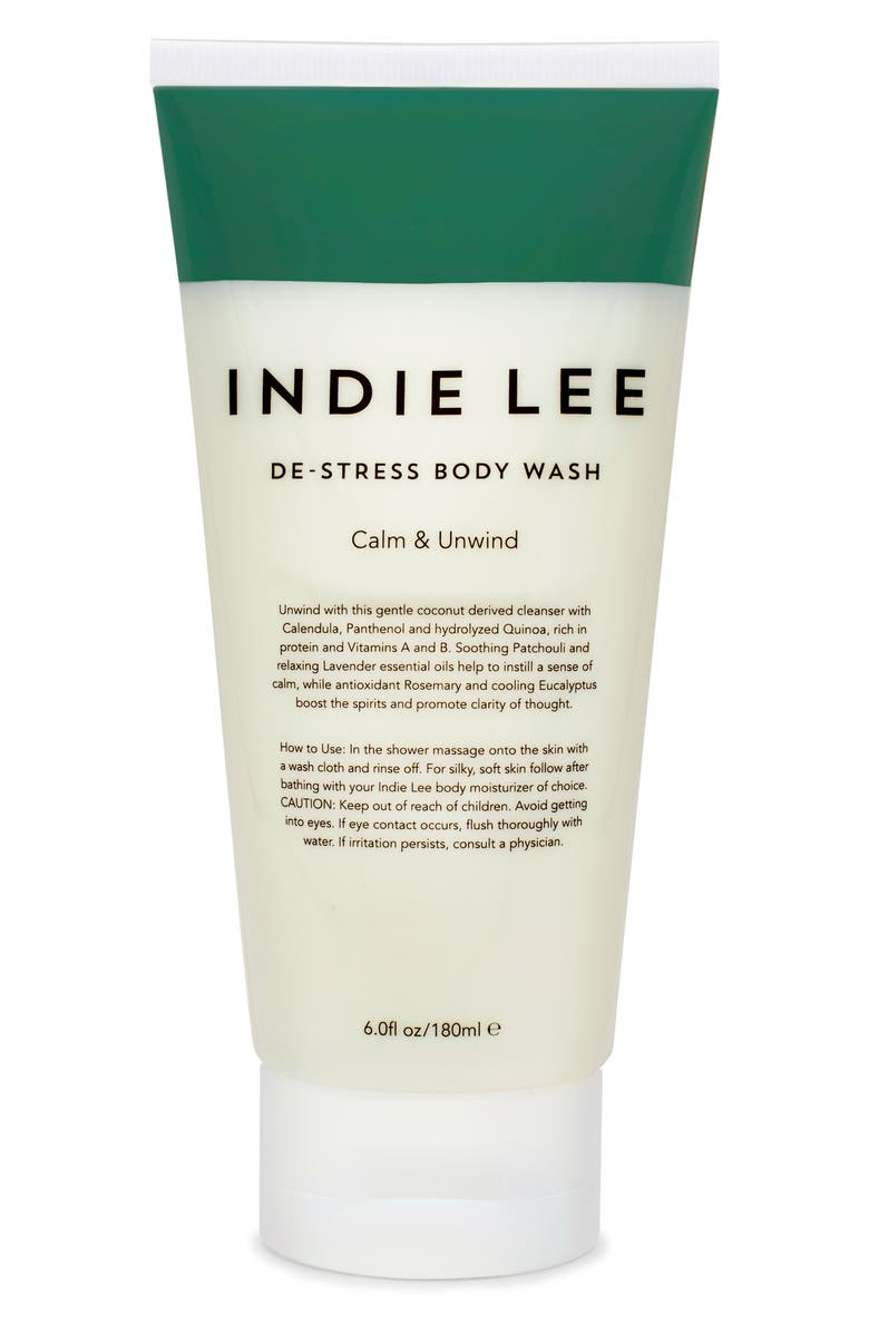INDIE LEE De-Stress Body Wash, Main, color, No Color