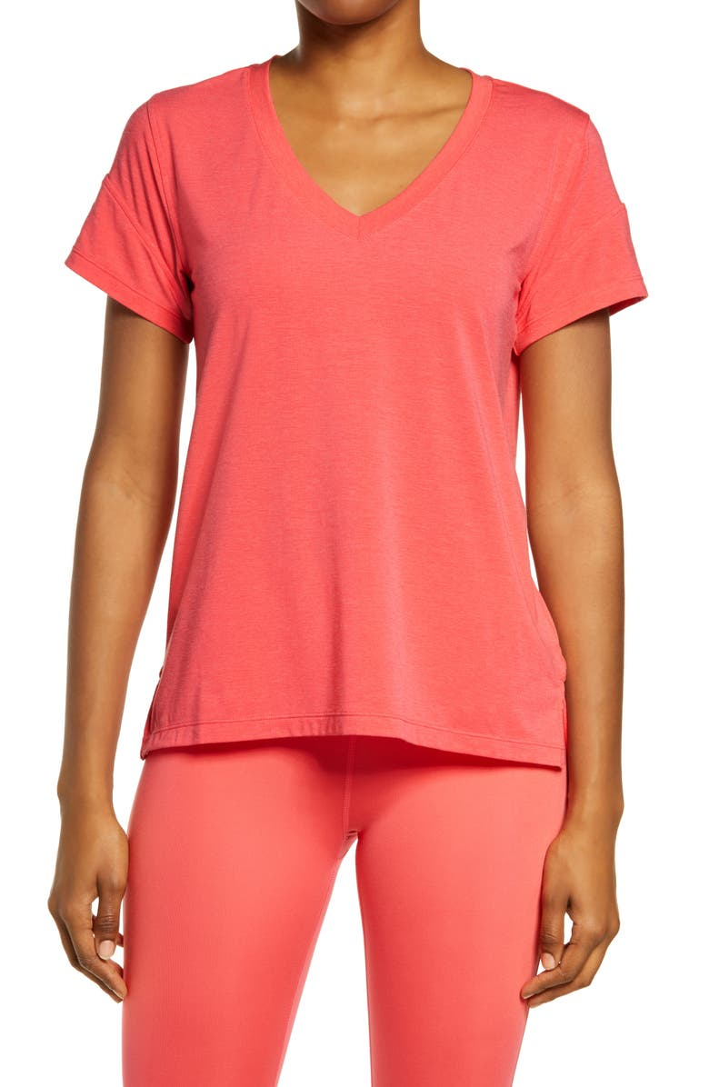 ZELLA Ava T-Shirt, Main, color, PINK PARADISE