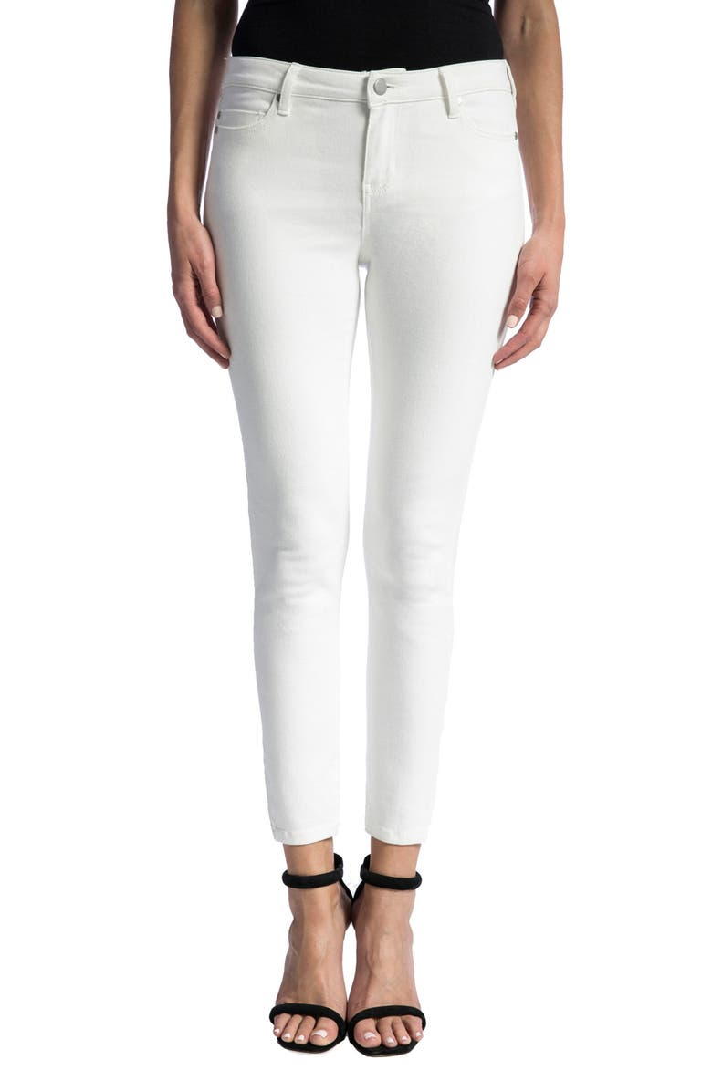 LIVERPOOL Penny Ankle Skinny Jeans, Main, color, 105