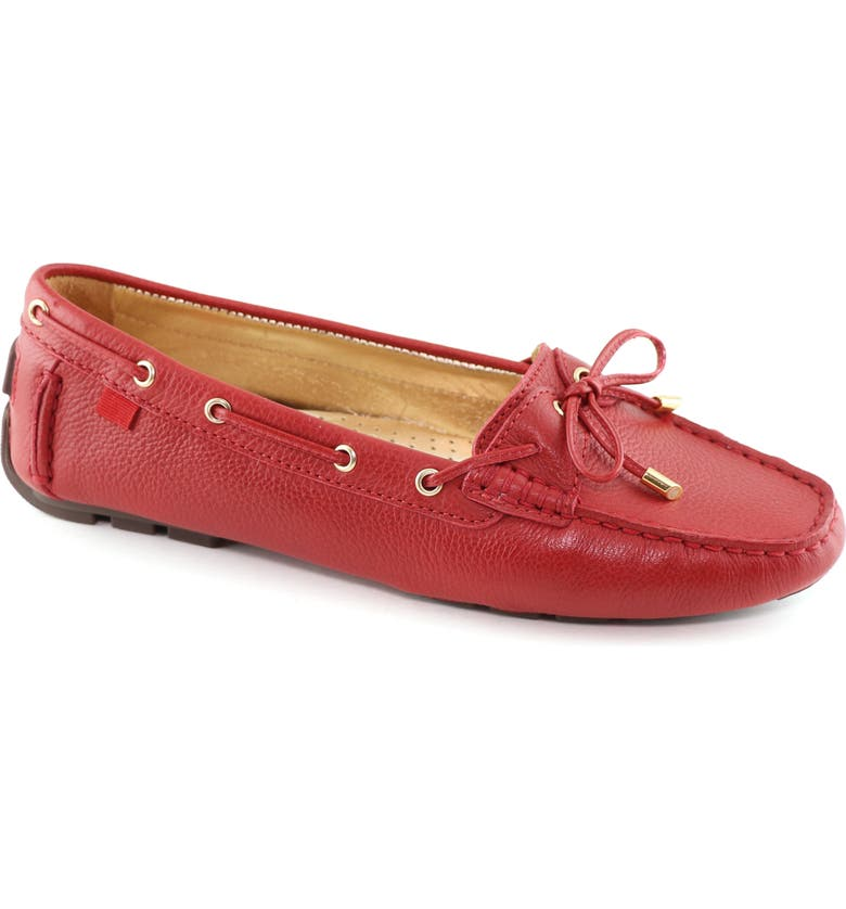 MARC JOSEPH NEW YORK Rockaway Loafer, Main, color, RED LEATHER