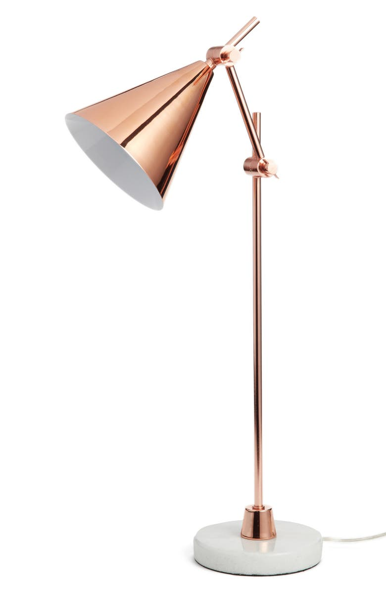 CRYSTAL ART GALLERY Coppertone Table Lamp, Main, color, 220