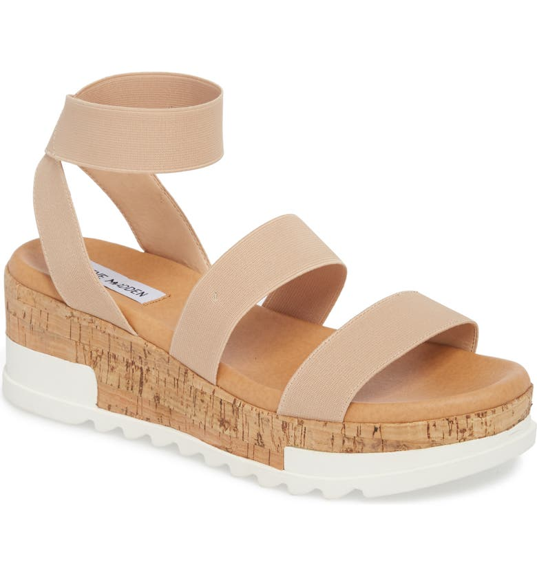 STEVE MADDEN Bandi Platform Wedge Sandal, Main, color, BLUSH