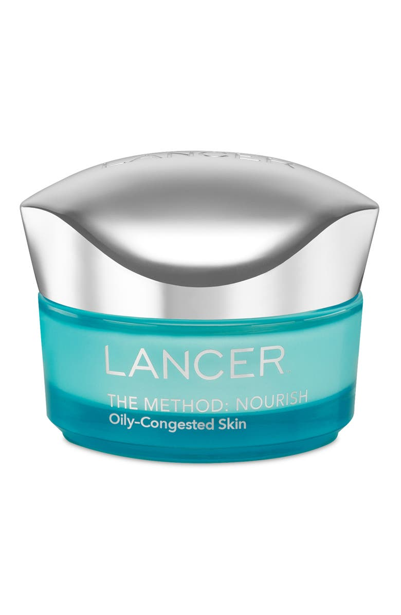 LANCER SKINCARE The Method: Nourish Moisturizer for Oily to Congested Skin, Main, color, No Color