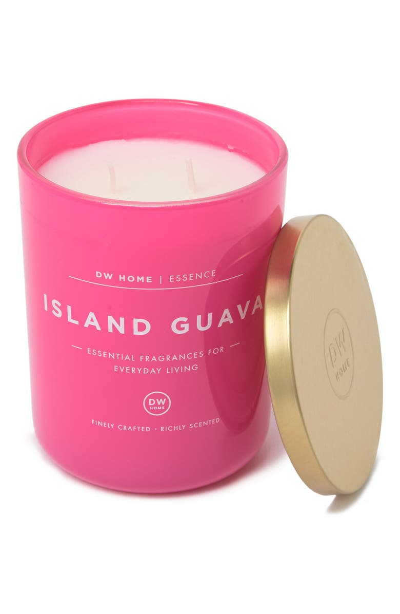 DW HOME Island Guava Candle - 15 oz., Main, color, PINK