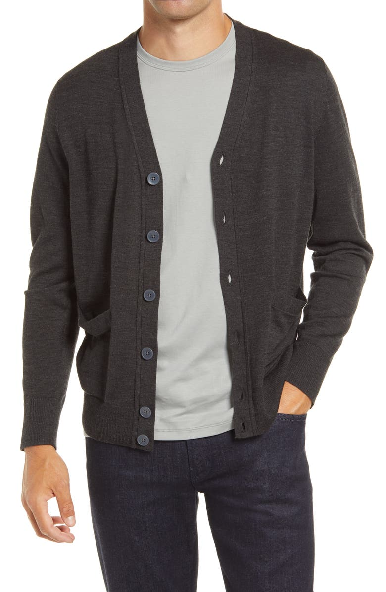 NORDSTROM Tech-Smart Cardigan, Main, color, 021