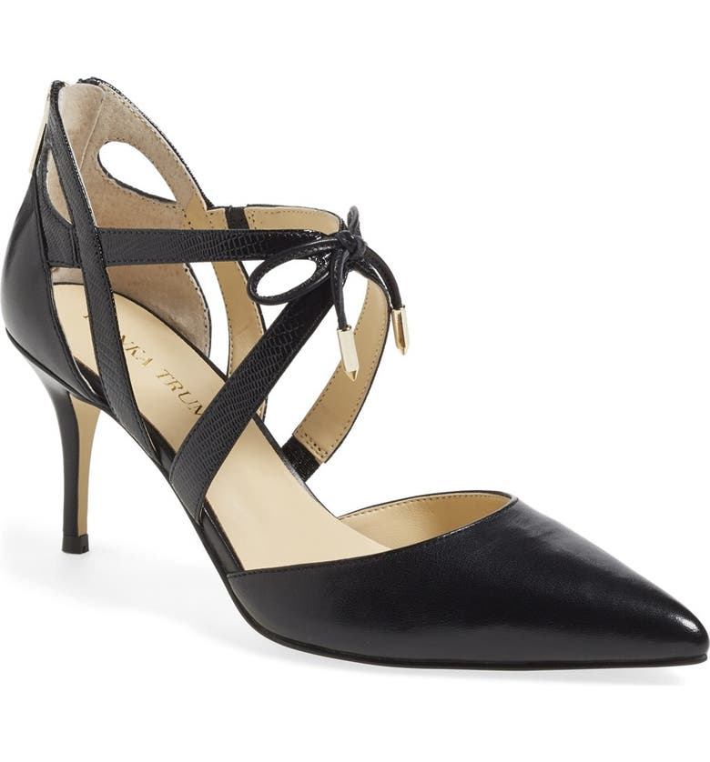 IVANKA TRUMP 'Tenice' Pointy Toe Pump, Main, color, 001