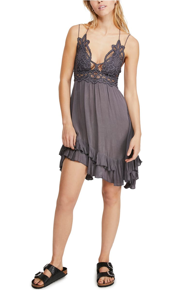 FREE PEOPLE Intimately FP Adella Frilled Chemise, Main, color, 025