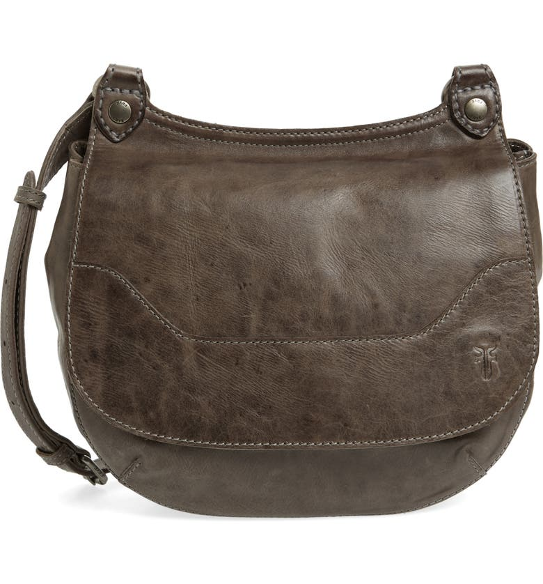 FRYE 'Melissa' Leather Crossbody Bag, Main, color, 491