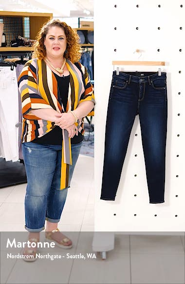 Donna High Waist Skinny Jeans, sales video thumbnail