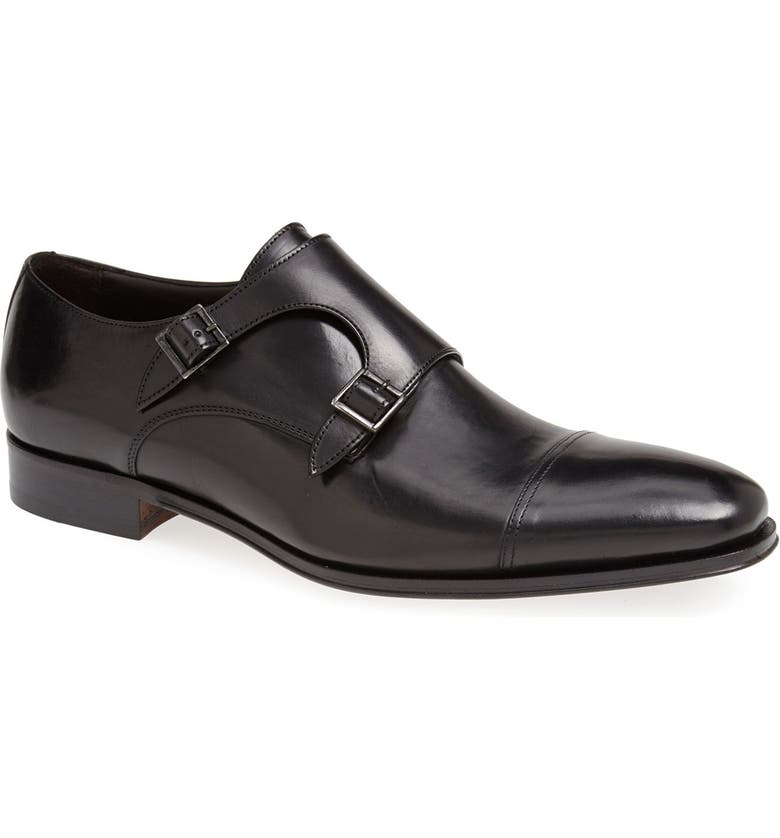 TO BOOT NEW YORK 'Grant' Double Monk Shoe, Main, color, 001