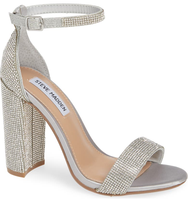 STEVE MADDEN Carrson Ankle Strap Sandal, Main, color, 043
