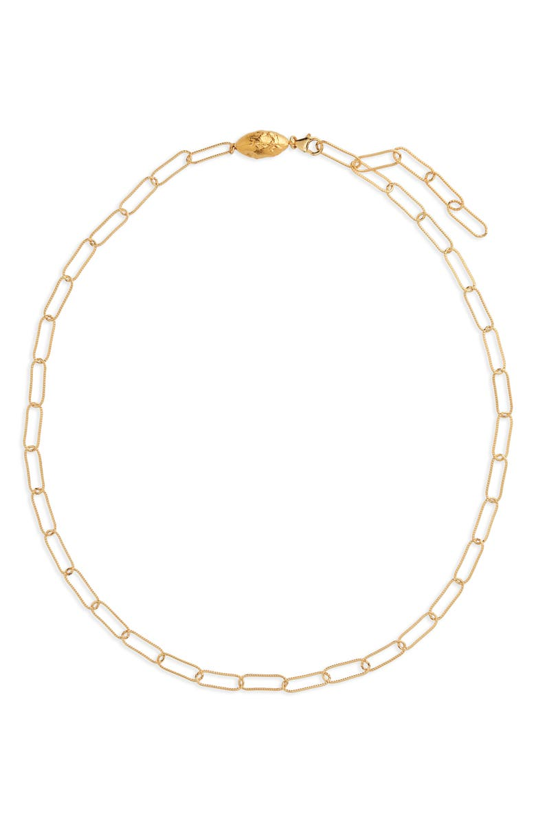 ALIGHIERI The Lincognito Chain Link Choker Necklace, Main, color, GOLD