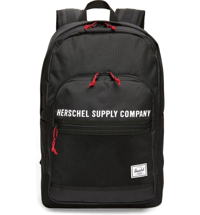 HERSCHEL SUPPLY CO. Kaine Backpack, Main, color, BLACK