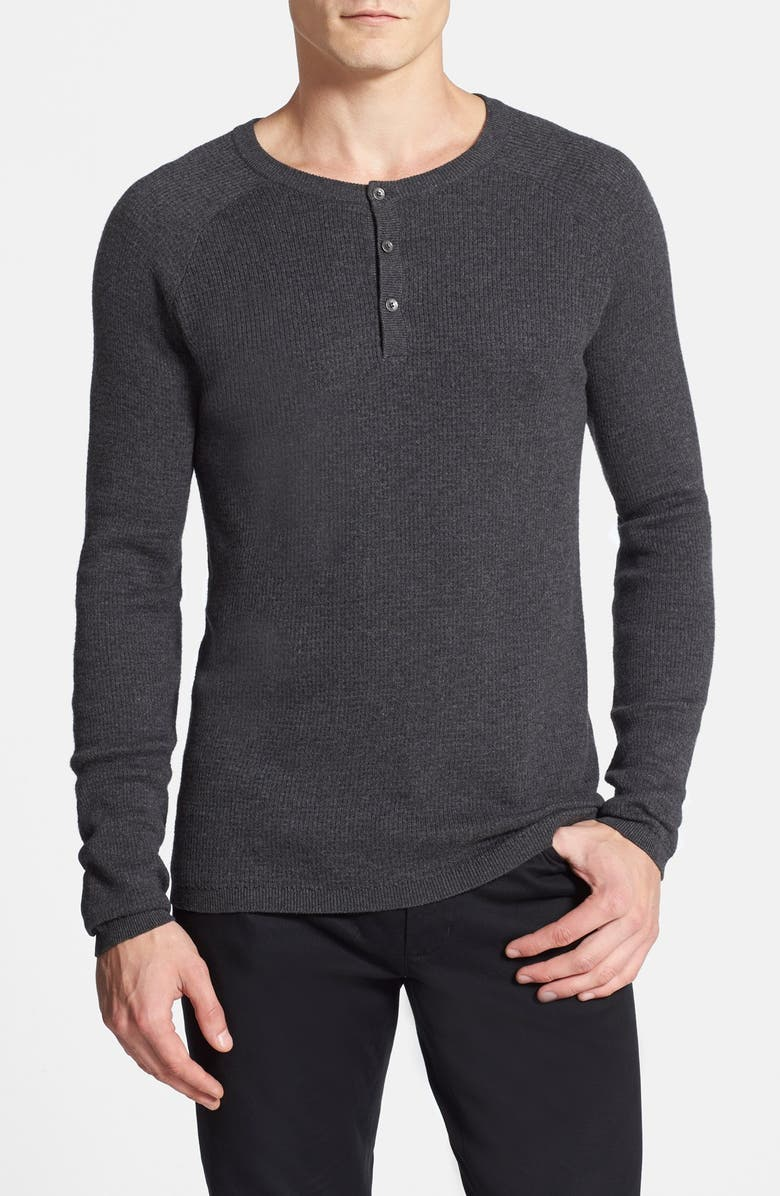 VINCE CAMUTO Henley Sweater, Main, color, 031