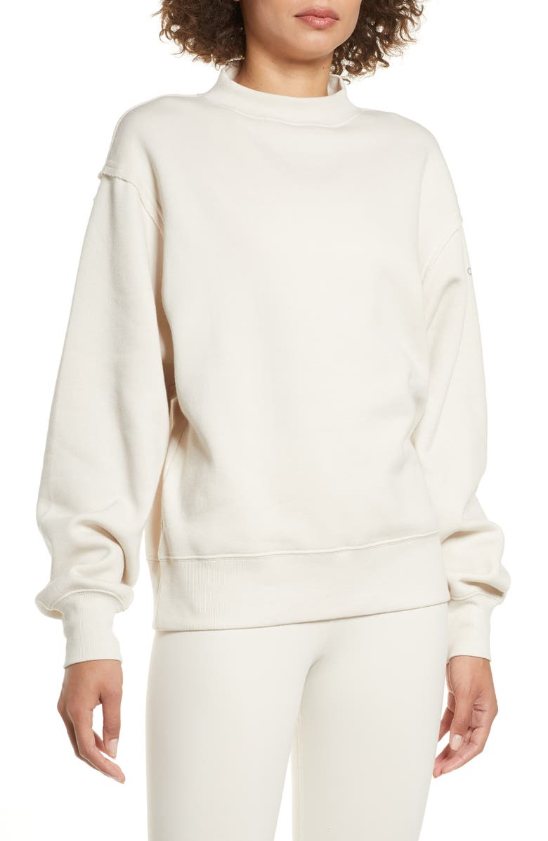 ALO Freestyle Mock Neck Sweatshirt, Main, color, 276