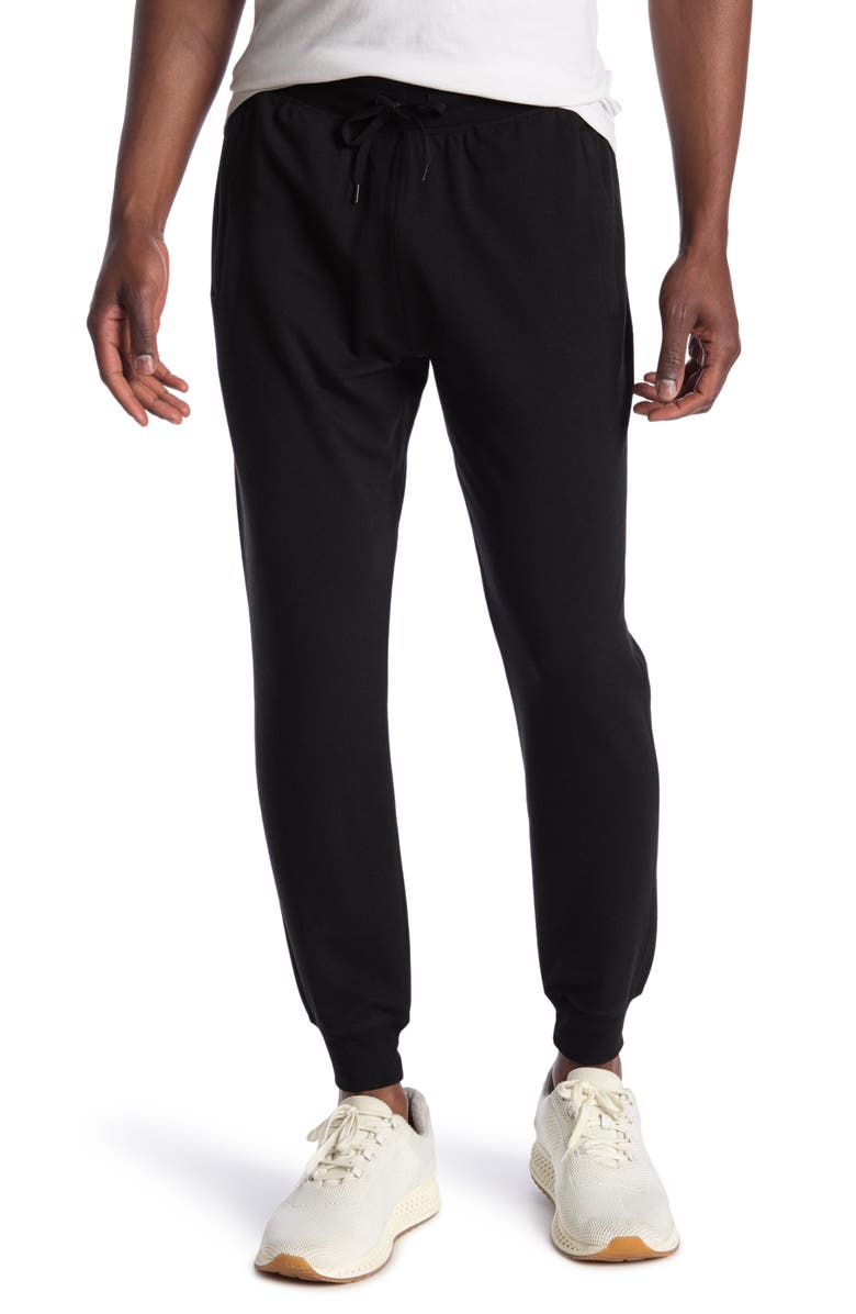90 DEGREE BY REFLEX Terry Joggers, Main, color, BLACK
