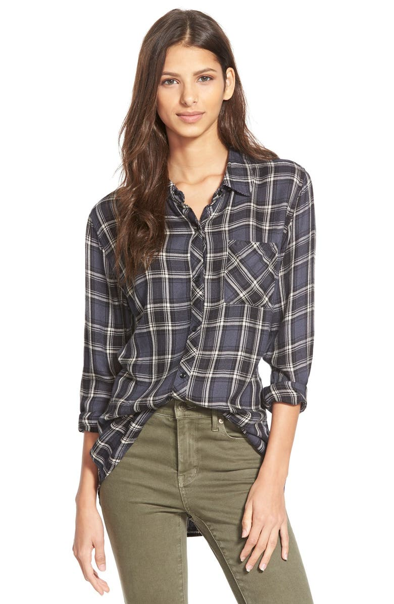 RAILS 'Hunter' Plaid Shirt, Main, color, 020