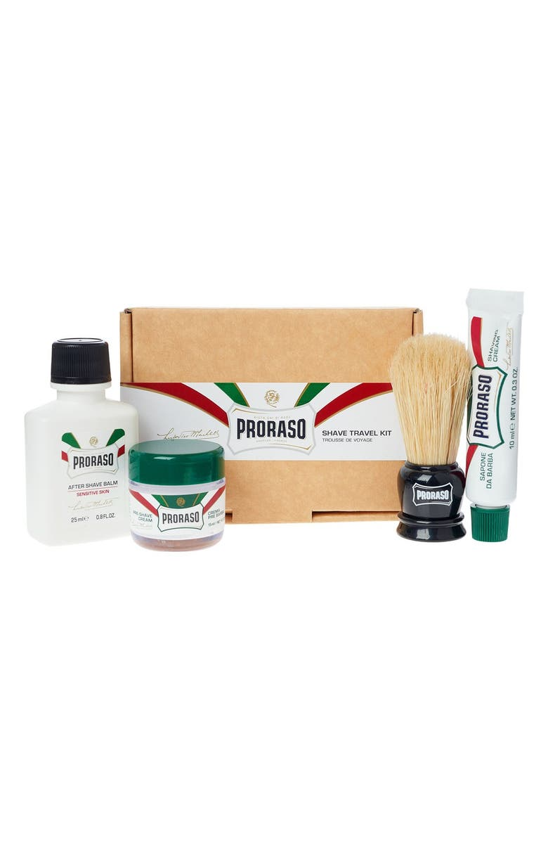 C.O. BIGELOW <sup>®</sup> Proraso Shave Travel Kit, Main, color, No Color