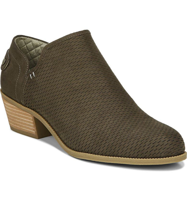 DR. SCHOLL'S Better Bootie, Main, color, OLIVE FABRIC