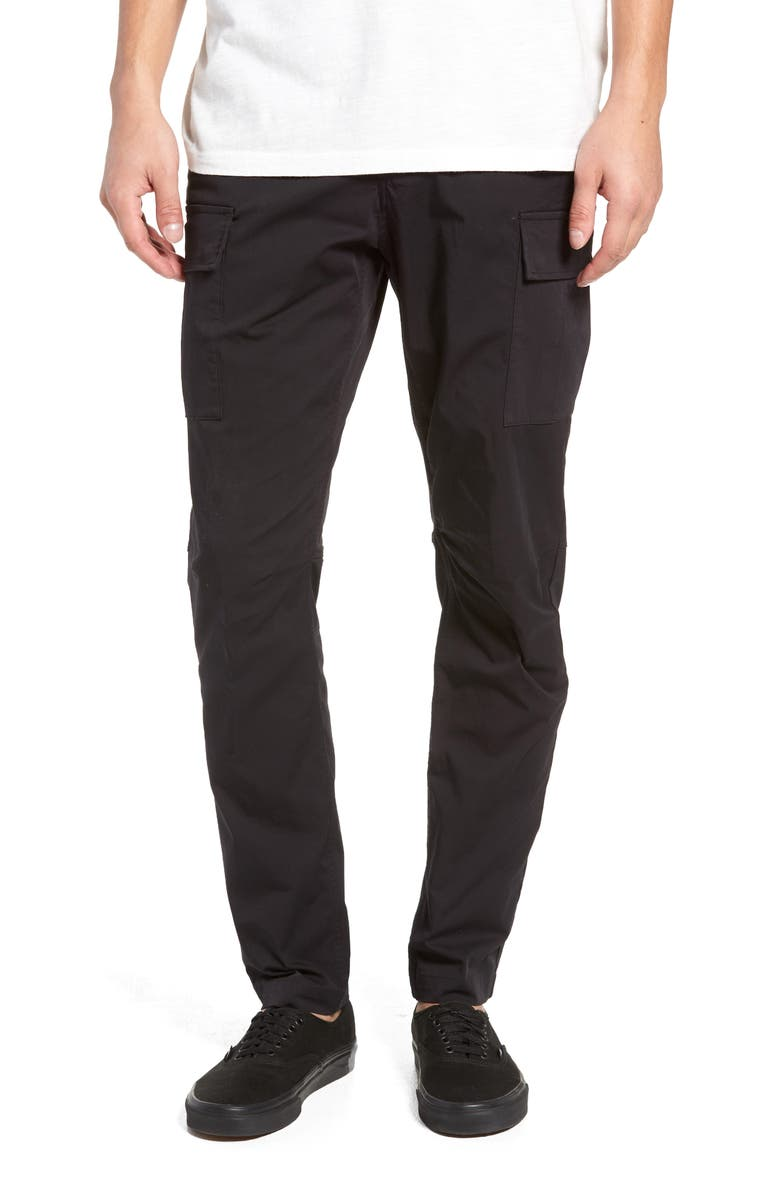 WINGS + HORNS Cordura Slim Fit Cargo Pants, Main, color, 001