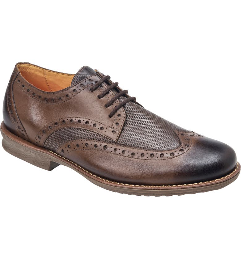 SANDRO MOSCOLONI Martin Wingtip, Main, color, BROWN LEATHER
