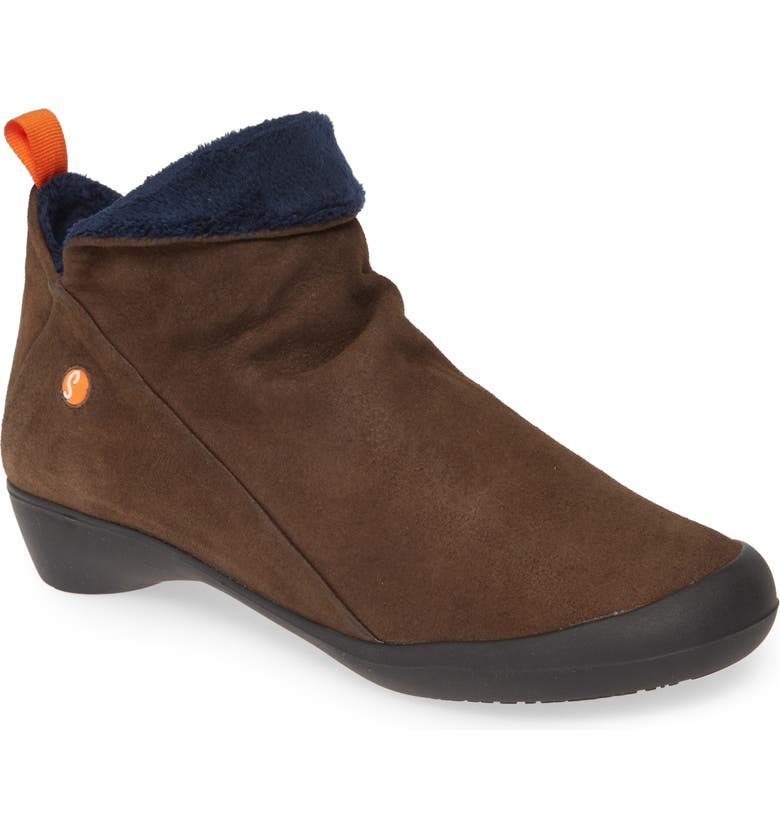 SOFTINOS BY FLY LONDON Farah Bootie, Main, color, GREY LEATHER