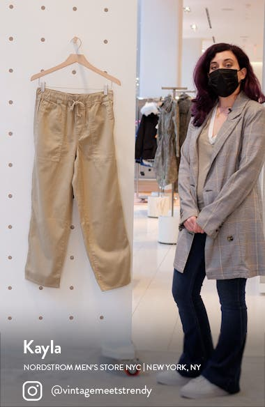 Relaxed Pull-On Pants, sales video thumbnail