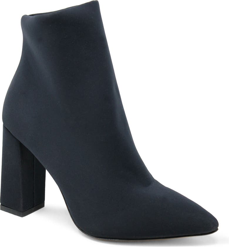 CHARLES DAVID Lau Pointed Toe Bootie, Main, color, BLACK FABRIC
