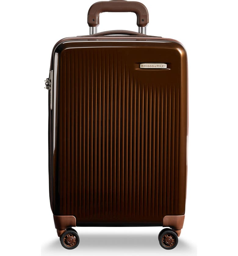 BRIGGS & RILEY Sympatico 22-Inch Expandable Spinner Carry-On, Main, color, 210