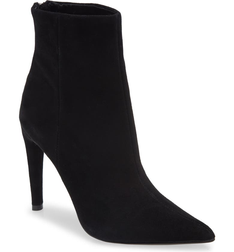 STEVE MADDEN Halena Pointed Toe Bootie, Main, color, 006
