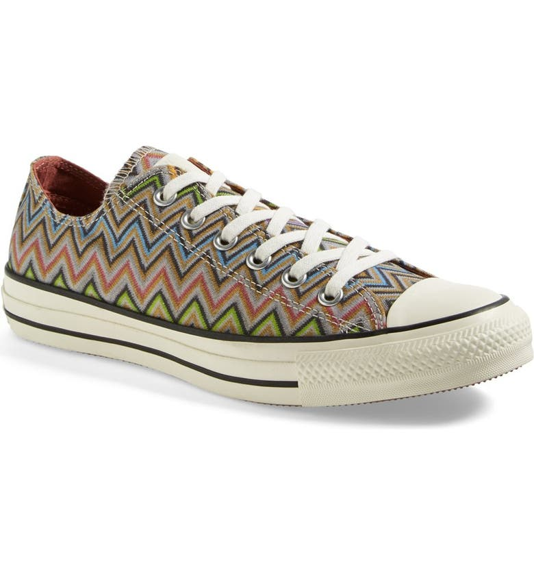 CONVERSE x Missoni Chuck Taylor<sup>®</sup> All Star<sup>®</sup> Low Sneaker, Main, color, 020