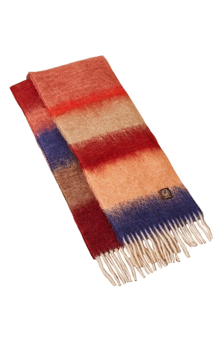 GOODEE x Ezcaray Matisse Mohair & Wool Scarf, Main, color, MULTICOLOR