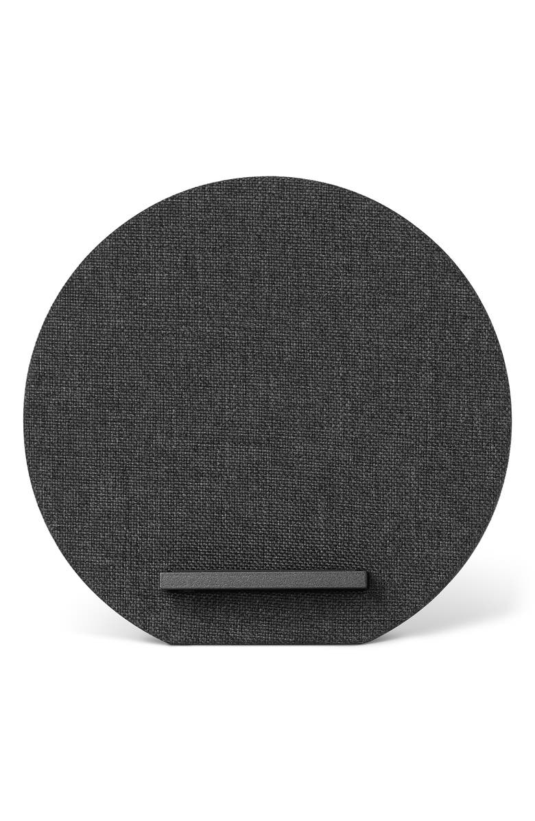 NATIVE UNION Dock Wireless Charger, Main, color, SLATE